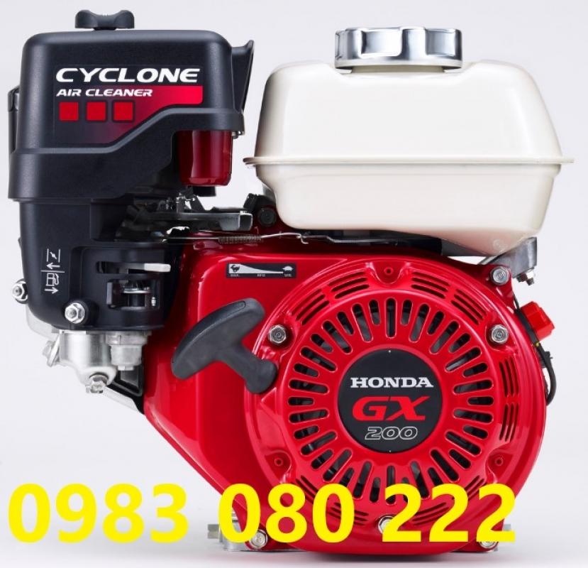 Động cơ Honda GX200T2 QC2 ( Lọc gió kép)